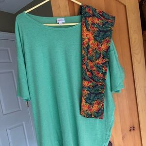 LuLaRoe Outfit - Preowned - OS Leggings/Top